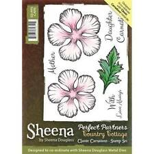 Sheena Douglass Perfect Partners Country Cottage CLASSIC CARNATIONS A6 Rubber St
