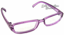 Purple Plastic Rim Eye Glasses For American Girl Doll Clothes Accessories