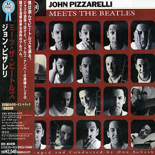 John Pizzarelli Meets the Beatles AUTOGRAPHED COPY (CD, Mar-1998, Bmg/Rca)