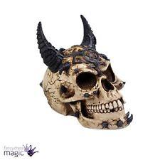 Nemesis Now New Gothic Horned Demon Pentagram Skull Ornament Home Gift Figurine