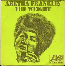 """ARETHA FRANKLIN """"THE WEIGHT / TRACKS OF MY TEARS"""" SOUL 60'S SP ATLANTIC 650138"""