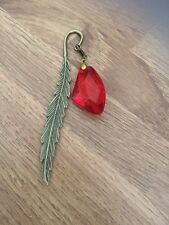 Harry Potter Inspired Philosophers Stone Bronzed Bookmark