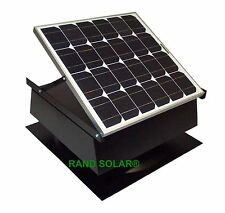 Rand Solar Powered Attic Fan-40 Watt-W Roof Top Ventilator NEW!!