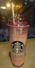 Summer whipcream pink cold cup Tumbler Starbucks Korea With Gift Wrap Mugs MD