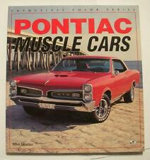 Pontiac Muscle Cars (Enthusiast Color) 1994 by Mike Mueller Car Book