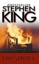 Hardcover copy of Firestarter by Stephen King with Dust Jacket