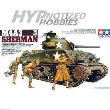 TAMIYA 1/35 US MEDIUM TANK M4A3 SHERMAN 75 MM GUN MODEL KIT 35250