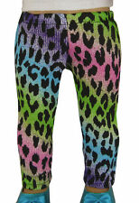 "Colorful Leopard Leggings Handmade for 18"" American Girl Doll Clothes"