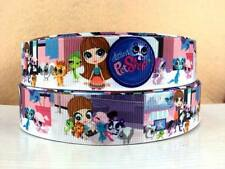 1 METRE LITTLEST PET SHOP SIZE 1 INCH BOWS HEADBANDS BIRTHDAY CAKE HAIR