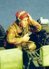 Resicast 1:35 WWII Paratrooper Radio Operator for Jeep - Resin Figure #355554