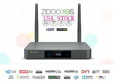 Zidoo X9S Smart TV BOX Android 6.0 Quad Core 2G/16G WIFI Bluetooth Media Player