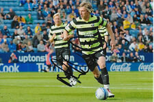 SCUNTHORPE UNITED HAND SIGNED MARTYN WOOLFORD 6X4 PHOTO.