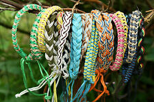 Friendship Bracelets wholesale 20 Hemp Woven Fair Trade Gift  Wristband Assorted