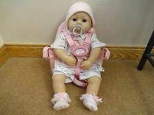 baby annabell comes with outfit and bike seat
