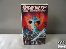 Friday the 13th - Part 8: Jason Takes Manhattan (VHS) Kane Hodder Rob Hedden