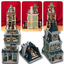 LEGO Modular Haunted House instructions alternate custom 10228 10230 MOC A