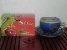 ReMeTea - Revitalise Snake Grass Tea Lemongrass FREE SHIPPING WM
