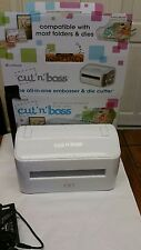 CUT N BOSS All-in-one Embosser & Die-cutting Machine for parts not working