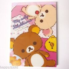 Authentic San-X My Only Rilakkuma Memo Pad with Stickers MM09601 from Japan
