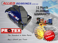 FRONT PROTEX BRAKE PADS ONE SET HOLDEN RODEO RA TF, JACKAROO L2 L5 U8 - DB1270