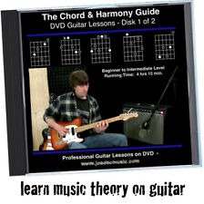 Learn Music Theory For Guitar Players * Chord, Harmony & Rhythm DVD Lessons *