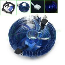 CPU Radiator PWM LED Fan Cooler For Inter 775 1155 1156 AMD 754 939 AM2+ AM3