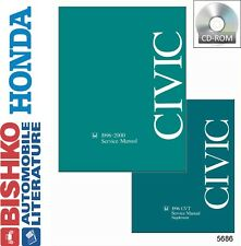 1996 1997 1998 1999 2000 Honda Civic Shop Service Repair Manual CD