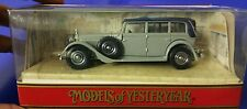 Matchbox Models of Yesteryear - 1931 Greya nd Blue MERCEDES BENZ 770 - Model Y40