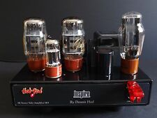 STEREO TUBE AMPLIFIER INSPIRE by DENNIS HAD KT-66 TUBE SINGLE ENDED AMPLIFIER