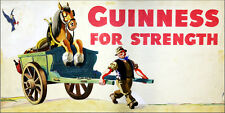 GUINNESS METAL VINTAGE RETRO SHABBY-CHIC 30CM X 15CM TIN SIGN WALL PLAQUE BEER