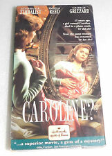 Caroline? VHS, 1992 Stephanie Zimbalist Mystery Missing Woman Claims Inheritance