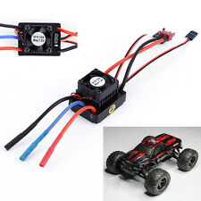 1:10 60A Brushless Sensorless Waterproof ESC for 1/10 RC Car Buggy Truck Vehicle