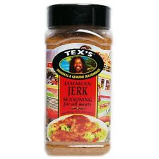 350g Tex's Jamaican Jerk Seasoning for All Meats,  Hot & Spicy