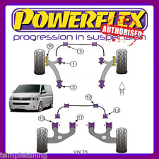 Powerflex Front & Rear Bush Kit for VW T5 pff85-1301/1302 & PFR85-1310/1311