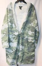 NEW WOMENS PLUS SIZE 3X CAMOUFLAGE CAMO LAYERING OPEN FRONT CARDIGAN JACKET COAT