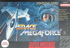 ***SPACE MEGAFORCE SNES SUPER NINTENDO GAME COSMETIC WEAR~~~