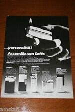 AV12=1972=SAFFA ACCENDINO LIGHTER=PUBBLICITA'=ADVERTISING=WERBUNG=