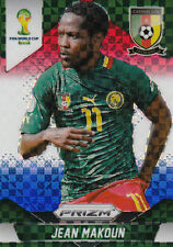 Panini PRIZM FIFA World Cup 2014 JEAN MAKOUN  Cameroon No.39  Red Blue Power