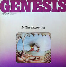 GENESIS - IN THE BEGINNING - LONDON LP - 1977 LP - JONATHAN KING PRODUCED