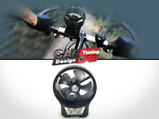 Bike Bicycle Wind Charger W/ Flashlight White LED Cell Phones MP3