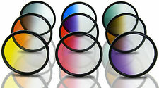 Opteka 52mm HD Multicoated Graduated Color Filter Kit For Digital SLR Cameras