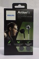 Philips SHQ1200WT/28 ActionFit Sports In-Ear Headphones, White NEW SEALED