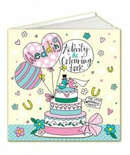 Rachel Ellen Wedding Table Activity Colouring Book - Wedding Favour for kids
