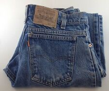 Levi's 550 Men's Levis Jeans Relaxed Fit Orange Tab Denim 31x30 Blue Mens