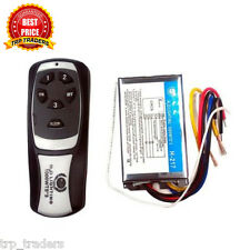 3 Way Remote Switch, Wireless RF Radio Remote Control Switch Light / Fan / RF