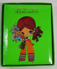 VINTAGE MOD BIG EYED GIRL AMERICAN GREETINGS SPECIAL OCCASIONS BOOK JAPAN