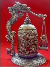 Excellent Tibet Dragon buddha Bell