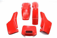 New Plastic Kit Honda 81-82 XR500 R XR250 R Fenders Panels Shroud (See Notes)R43
