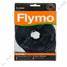 Flymo Lawnmower Cutting Disc & 2 Blades Microlite Minimo FLY052