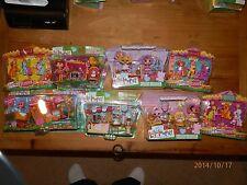 Huge Lot 8 Retired Lalaloopsy Playset New Crumbs Party/Train/Scoops/Tippy/Pillow